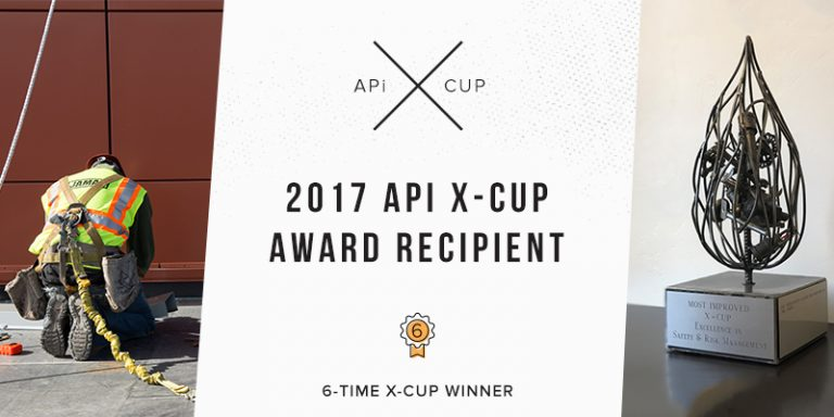 2017 X-Cup Safety Award