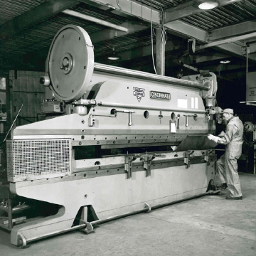 Jamar historical image of machine