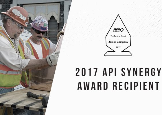 APi Group Synergy Award recipient