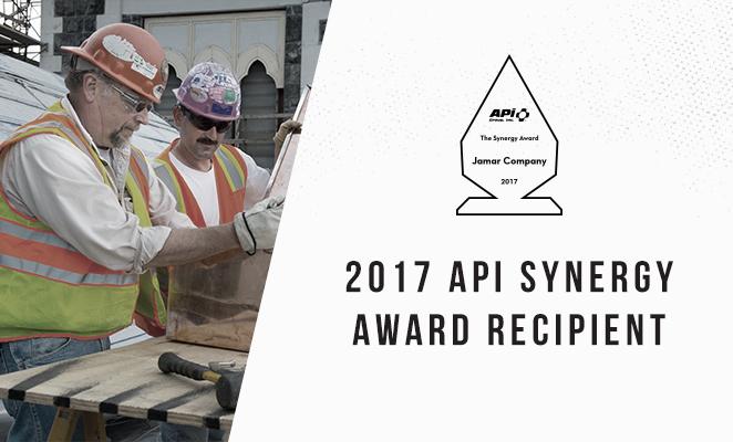 APi Group Synergy Award recipient