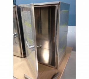 custom aluminum cabinets