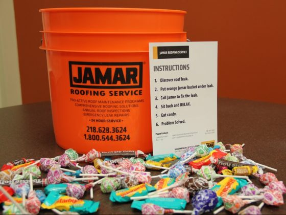 Bucket of Candy Brings in Roofing Business