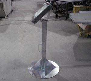 custom metal document stand