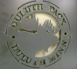 custom metal laser cut sign