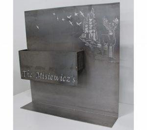 custom metal planter box